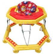 Oh Baby Baby Musical 8 Wheel yellow Color Walker For Your Kids SE-W-09
