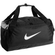 Nike Sporttas Brasilia Duffel S - Zwart/Wit