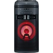 LG Ok55 Mini Hi-Fi Bluetooth Wireless Potenza 500 Watt Karaoke Luci Multicolor Effetti Dj Effetti Vocali Lettore Cd Usb Aux In Radio Fm - Ok55