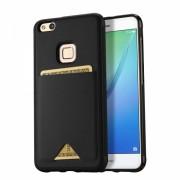 Husa Dux Ducis capac port card pentru Huawei P10 Lite, negru