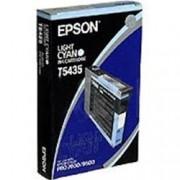 ORIGINAL Epson Cartuccia d'inchiostro ciano (chiaro) C13T543500 T5435 110ml