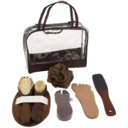 DBE 8pc Spa Kit Skin Care Personal Care Brown DBE-140-SPA
