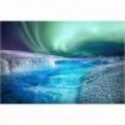 Fototapet aurora boreala 390 x 260 - Hartie blueback fara adeziv