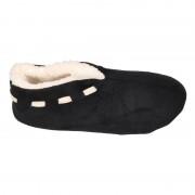 Apollo Dames Spaanse sloffen/pantoffels zwart