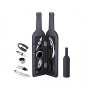 Suport in forma de sticla cu 5 accesorii pentru vin Peterhof PH-12878
