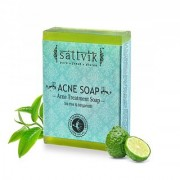 Sattvik Organic Acne Soap As75 (75gm) PACK OF 5