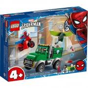 set de construcción lego super héroes asalto camionero del buitre 76147