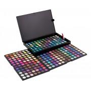 Trusa profesionala farduri cu 252 de diferite culori mate si lucioase