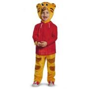Disguise Daniel Tigers Neighborhood Daniel Tiger Deluxe Toddler Costume, Large/4-6