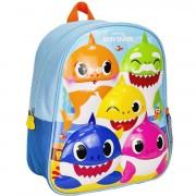 Baby Shark school rugtas/rugzak voor peuters/kleuters/kinderen