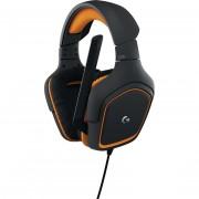Logitech 981-000627 Prodigy G231 Cuffie Gaming Per Pc Colore Nero E Arancio