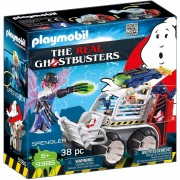 Playmobil the real ghostbusters spengler con veicolo acchiappafantasmi