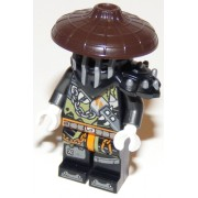 njo462 Minifigurina LEGO Ninjago Hunted-Heavy Metal (Faith) njo462