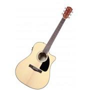 Fender Guitarra Dreadnought CD-60 CE NA