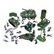 Set de joaca Soldati si accesorii, 68 piese