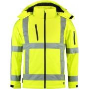 Tricorp Soft shell jack RWS - Workwear - 403003 - Fluor Geel - maat XXL