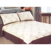 Cuvertură de pat Rose Me Brown (model 1113)