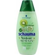Sampon SCHAUMA Nature Moments 400 ml cu Extract de Kiwi Castravete si Canepa pentru Par Uscat Sampon Vegan