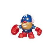 Mini Boneco Mr. Potato Head - Marvel - Capitão América - Hasbro