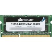 Memorie Laptop Corsair 4GB DDR3 1066MHz 7-7-7-20 Resigilat