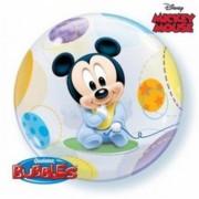 """Buborék lufi, Baby Mickey, 22""""/56cm"""