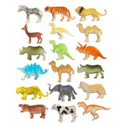 Kotak Sales Kids Children Toy Natural World Animal Insects Model Set Plastic PVC Toys School Learning Playing Prank 18 Pcs Set