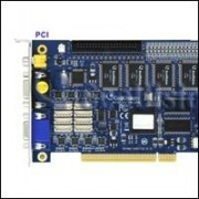 GeoVision GV-1240/16 D-SUB :: Охранителна платка GV-1240, 16 порта, D-Sub, PCI, 400/200 fps