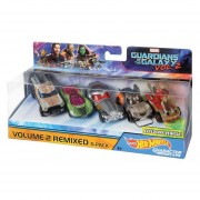 Hot Wheels Guardianes De La Galaxia 2 Paquete De 5 Autos Personificados