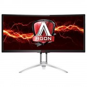 "Monitor MVA, AOC 27"", AGON AG352UCG, Curved, 100Hz, 4ms, HDMI/DP/DVI, Speakers, 3440x1440"