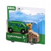 Brio Giraff och Vagn