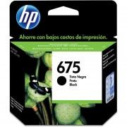 Cartucho HP 675-Negro