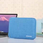HAWEEL 7 9 inch mouw geval rits werkmap uitvoering tas voor de iPad mini 4 / iPad mini 3 / iPad mini 2 / iPad mini Galaxy Lenovo Sony Xiaomi Huawei 7 9 inch Tablets(Blue)