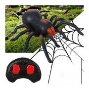 Tricky Divertido Juguete De Control Remoto Por Infrarrojos Scary Creepy Spider, Tamaño: 22 * 23cm