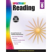 Spectrum Reading Workbook, Grade 8, Paperback