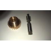 Bronzové kolo a osa 56288