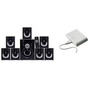 Combo of Ikall Tanyo 7.1 BT Speaker System with 12000mAh PowerBank