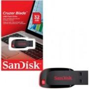 SanDisk cruzer blade 32 gb 32 Pen Drive(Black)