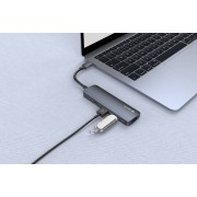 Devia Redukce / adaptér USB-C - Devia, 4in1