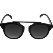 HH (ViratBlackDc) Black UV Protection Unisex Wayfarer Unisex Sunglasses