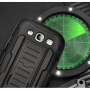 Удароустойчив Калъф Броня Hard Shell Stand Case За Samsung I8190 Galaxy S3 Mini