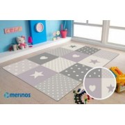 Covor MERINOS Pastel Kids 20339 250-Lila 160x230 cm grosime 13 mm