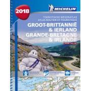 Wegenatlas - Atlas Groot-Brittannië, Engeland, Schotland & Ierland 2018 | Michelin
