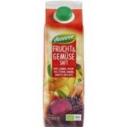 Suc Rosu de Fructe si Legume Bio 1L Deenree