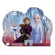 Puzzle Dino pe Placa Frozen 2- 25 piese