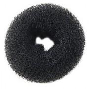 Homeoculture DIY Divalacious Black Donut Bun For Women