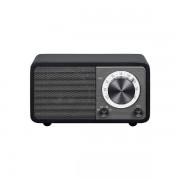 Bluetooth FM rádió, fekete, Genuine Mini WR-7