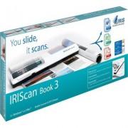 Преносим цветен скенер iris IRIScan Book 3 за книги и списания, 15 стр/минута, USB 2.0