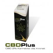 CBD Plus Orvosi Kenderolaj 2%, 30ml, 600mg