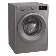 Masina de spalat rufe LG Titan F4J5TN7S, 8 kg, 1400 RPM, Clasa A+++, Direct Drive, Argintiu