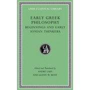 Early Greek Philosophy, Volume I: Introductory and Reference Materials - Beginnings and Early Ionian Thinkers (9780674996540)